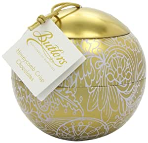Butlers Gold Christmas Bauble with Honeycomb Crisp Chocolates and Mandarin Truffles 150 g (Pack of 2)