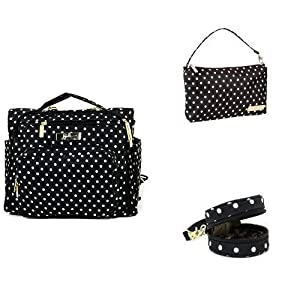 Ju-Ju-Be B.F.F. Legacy Collection Convertible Diaper Bag, Wristlet and Paci Pod, Queen of The Nile