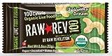 Raw Revolution 100 Spirulina Dream Organic Live Food , 0.8 oz, 20- Count Bars.