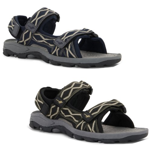 NEW MENS PRACTICAL VELCRO FASTENING COMFORT GOLA SANDALS SHOES SUMMER HOLIDAY WALKING