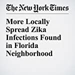 More Locally Spread Zika Infections Found in Florida Neighborhood | Pam Belluck