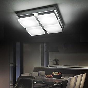 CMYK 02094 LED Strahler Deckenleuchte 20W Warmweiss Strahler Deckenlampe  218*218*60MM   230V  IP20 Neu