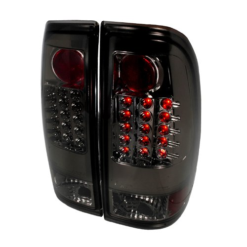 ford f150 f250 smoke led tail lights buy. Black Bedroom Furniture Sets. Home Design Ideas