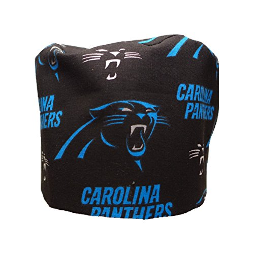 S1FM! Men's Scrub Cap, NFL Carolina Panthers, Handmade, Large, Double Cotton