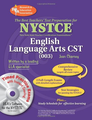 NYSTCE CST English (003) w/ CD-ROM (NYSTCE Teacher Certification Test Prep)