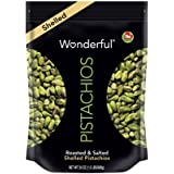 Wonderful Pistachios Roasted and Salted No Shells Pistachios 24 Ounce Bag