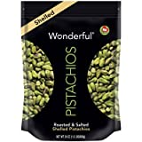 Wonderful Pistachios Roasted and Salted Shelled Pistachios 24 Ounce Bag