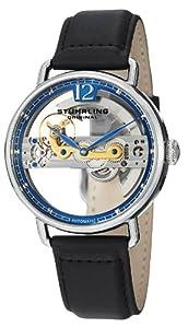 Stuhrling Original Men's 465.33156 Symphony Aristocrat Bridge Automatic Skeleton Blue Dial Watch