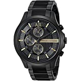 Armani Exchange Men's AX2164 Black PVD Stainless Steel Watch