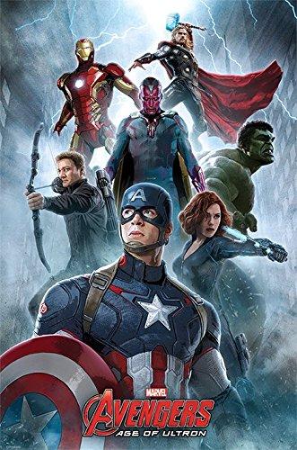 """Avengers """"età di Ultron, Encounter"""" Maxi Poster, multicolore"""