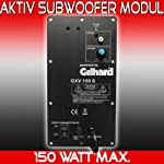 Gelhard Subwoofer Modul GXV150S (150Watt Max; 80Watt RMS)