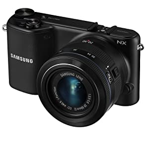 Samsung NX2000B - 20.3MP APS-C CMOS Smart WiFi Interchangeable Lens Digital Camera, 3.7-inch LCD Touch Screen, 20-50mm Lens - Black (Certified Refurbished)