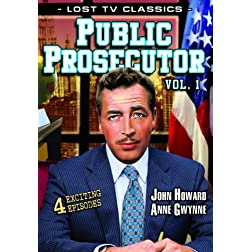 Public Prosecutor, Volume 1 (Lost Television Classics)