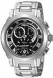 Seiko Gents Premier Kinetic Stainless Steel Bracelet Watch SNL041P1