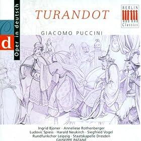 Giacomo Puccini: Turandot (Sung in German) [Opera] (Ingrid Bjoner)