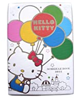 Sanrio 2011 Hello Kitty Agenda Book - Hello Kitty Planner - Hello Kitty Schedule Book