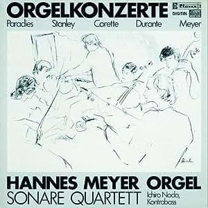 Corette : Barocke Orgelkonzerte
