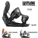 (フロー)FLOW 2016年モデルflo02-16-013 ビンディング FIVE FUSION メンズ/ 日本正規品 L BLACK