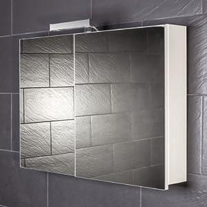 Spiegelschrank Galdem START90 / großer Spiegelschrank 90 cm / 2 ...