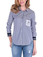 SIR RAYMOND TAILOR Shirt Flier (AZUL MARINO)