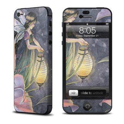 Apple iPhone 5用スキンシール 【Twilight Lilies】