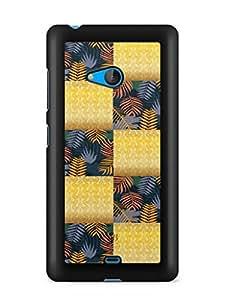 YuBingo Colourful Pattern Designer Mobile Case Back Cover for Microsoft Lumia 540