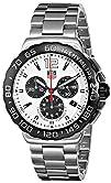 TAG Heuer Mens CAU1111.BA0858 Formula 1 White Dial Chronograph
