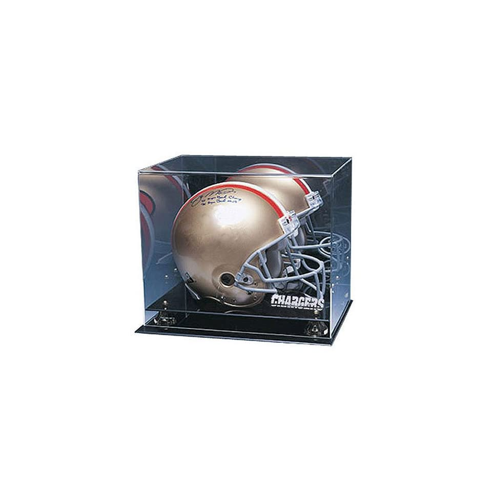 San Diego Chargers Nfl Coachs Choice Full Size Football Helmet Display Case