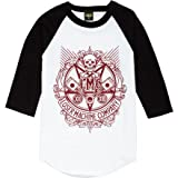 Loser Machine Chosen One Raglan T-Shirt - 3/4-Sleeve - Men's White/Black, M