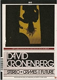 51Rn0vmFZkL. SX220  David Cronenberg   Crimes of the Future (1970)