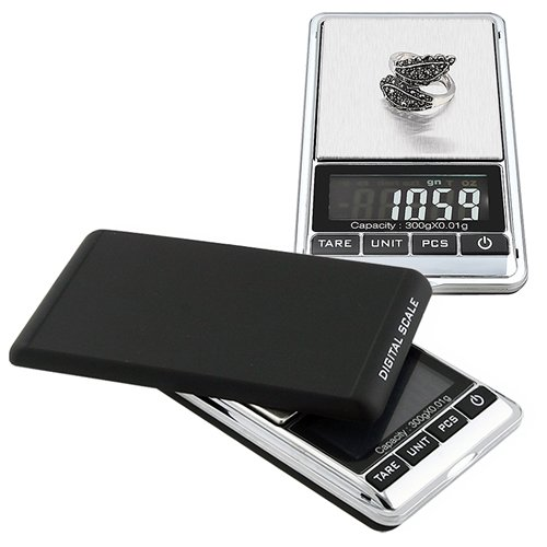51Rn1RS4v L 300g x .01g Mini Digital Jewelry Pocket GRAM Scale LCD Evaluations