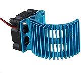 Sellify Blue Alloy 540/550 Motor Heatsink Cooling Fan For RC1: 10 Model Car N10026 Newest