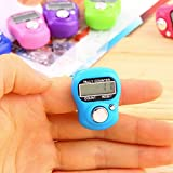 Shopo's 5 Pcs High Quality Tally Counting Digital Machine Finger Watch