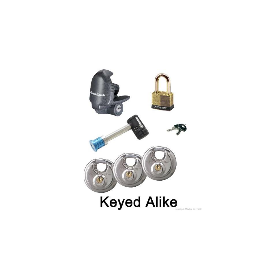08944ac172ed Master Lock 6 Trailer Locks Keyed Alike 6KA 37940 4 on PopScreen