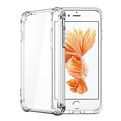 iphone 7 Plus Case, Matone Apple iphone 7 Plus Crystal Clear Shock Absorption Technology Bumper Soft TPU Cover Case for iphone 7 Plus 5.5 Inch (2016) - Clear from Matone