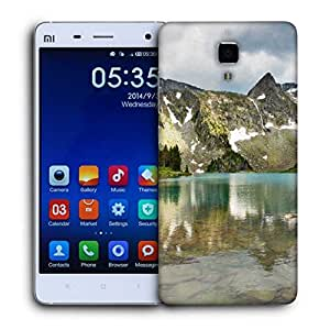 Snoogg Mirror Image Of Mountain Printed Protective Phone Back Case Cover For Xiaomi Mi 4