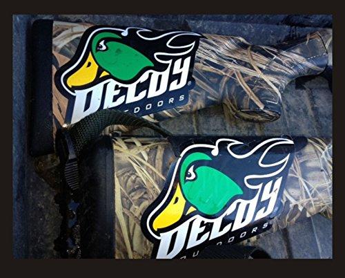 Decoy Outdoors FireQuacker Drake Mallard Duck Hunting Decal Sticker