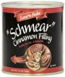 Love N Bake Schmear Cinnamon Filling , 12-Ounce Cans (Pack of 6)