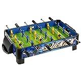 Hathaway Sidekick Foosball Soccer Table, Blue/Green, 38-Inch