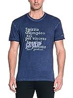 CMP Campagnolo Camiseta Manga Corta 3D42547 (Azul Marino)