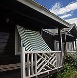(サニー クラウド)Sunny Cloud屋外 UVカット シェードオーニング (180×180cm) グリーン・イエロー