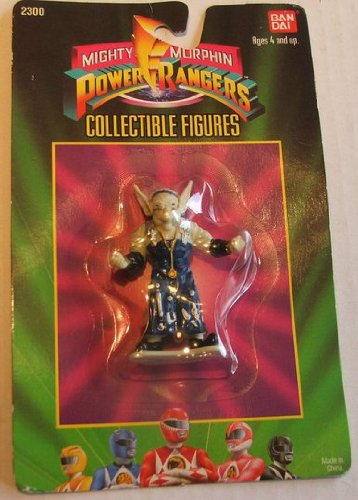 Picture of Bandai 1993 Mighty Morphin Power Rangers Collectible Figure : Evil Space Aliens (B004AGU2NA) (Power Rangers Action Figures)