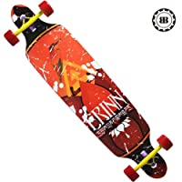 Cruiser Through Mample Longboard Skateboard Complete 9.5x42 Big Eye by Backfire Skateboards Group