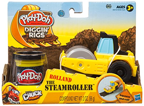 Play-Doh Tool Crew Rolland The Steam Roller - 1