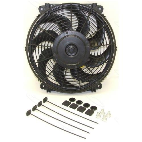 Hayden Automotive 3690 Rapid-Cool Thin-Line Electric Fan (Trailblazer Ss Electric Fans compare prices)