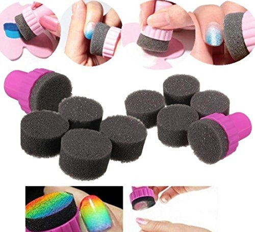 1-Set-Superb-Nail-Polish-Sponge-Stamper-Shade-Manicure-Ideal-Art-with-Black-and-White-Changeable-Sponges