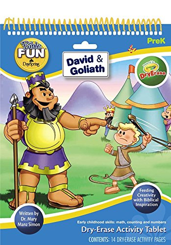 DaySpring David and Goliath Dry-Erase Tablet by Dr. Mary Manz Simon (32000)