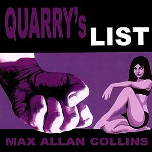 Quarry's List Audiobook