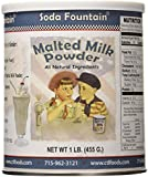 Soda Fountain Malted Milk Powder 1 Lb. (Single)