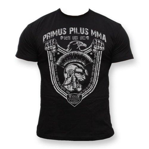 Dirty Ray Arti Marziali MMA Gladiator maglietta T-shirt uomo K53 (XL)